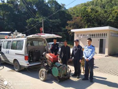 摩托车经过瞬间发现端倪!深汕民警巡逻时截获一被盗发动机