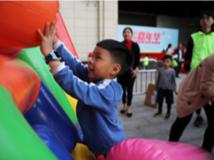 马田街道举办全民健身嘉年华,11个有趣项目让居民欢乐融融