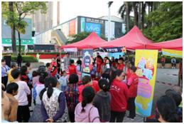马田街道开展艾滋病防治宣传,增强民众自我防护意识