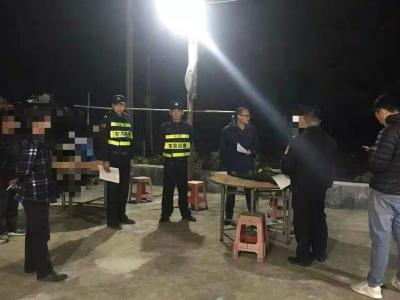 馬巒街道開展森林防火巡查宣傳活動,查扣一批野外用火工具