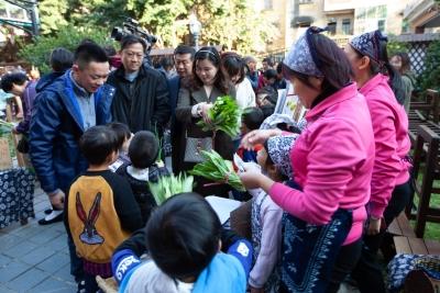 """东莞这所幼儿园里有块""""育美农场"""" 种菜义卖,从小培养环保理念"""