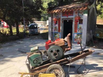 摩托车经过瞬间发现端倪,深汕民警巡逻时截获一被盗发动机