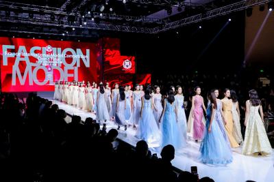 2019年法國國際模特大賽中國區總決賽在深舉行 東華大學牛科霏摘桂