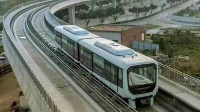 澳門第一條軌道交通開通運行