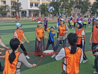 黄麻布社区趣味运动会欢乐多