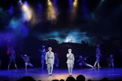 深圳市第三職校《親愛的紅軍》大型舞臺演講劇上演
