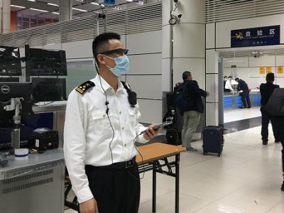 """查走私用上5G智能眼镜!深圳海关实现监管""""无盲区"""""""
