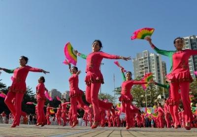 文明、健康、和谐!布吉街道举行第七届千人文体展演