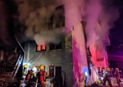 台南市发生火灾致7死2伤,21岁男子自首称纵火