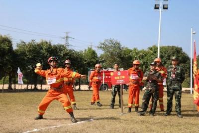 深圳市森林防灭火指挥部举办第三届森林消防业务技能大比武