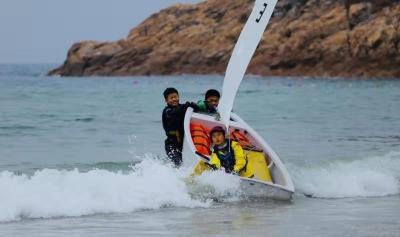 中國深圳青少年帆船賽落幕