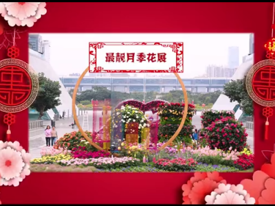 大红灯笼满福田 欢乐喜庆祥和年