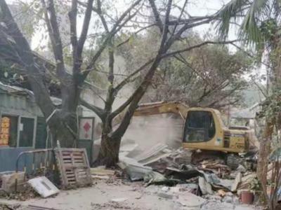 布吉街道再拆违建 确保辖区春节前后安全生产工作平稳有序
