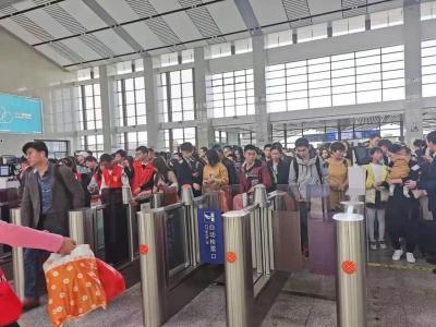 厦深铁路潮汕站因施工旅客需从北站房进站乘车