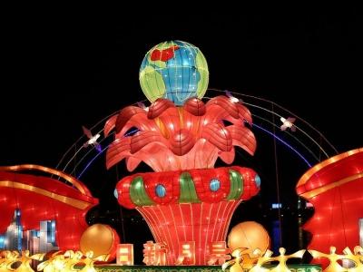 惠州西湖燈會23日起暫停亮燈