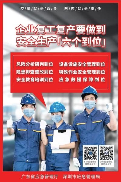 """有序推進企業復產復工,深圳有了""""新措施"""""""