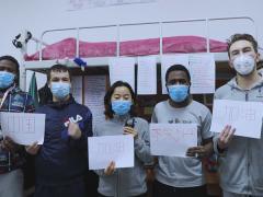 """留学生多国语言分享防疫故事 引众多网友点赞""""中国力量"""""""
