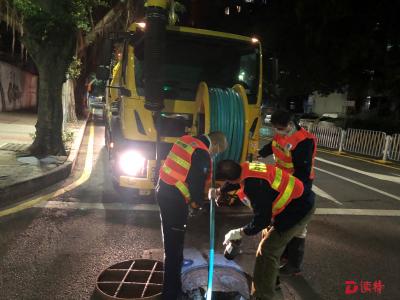 管網堵塞,深圳水務集團1小時緊急疏通