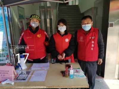 33年黨齡老黨員楊海生, 疫情防控最前線總有他的身影