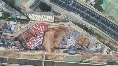 無人機、云端辦公助力疫情防控  全國最大裝配式公共住房項目有序復工