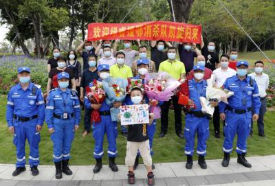 深圳民企出征湖北歸來!圓滿完成援助醫院消毒工作