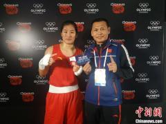 5:0战胜蒙古国选手 中国拳击运动员李倩拿到东京奥运会入场券