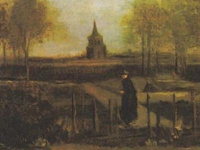梵高畫作《春天花園》在他生日那天被偷了