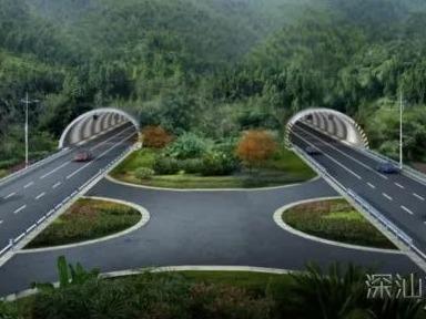 深汕合作區:科教大道全力攻堅 橋梁隧道工程全面鋪開