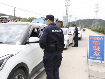 赤石鎮碗窯村:警民聯手筑牢清明安保防線