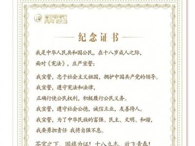 """""""新颖、暖心!""""深圳市成人礼线上宣誓典礼受热捧 学子、老师和家长热情点赞这份成年""""礼物"""""""
