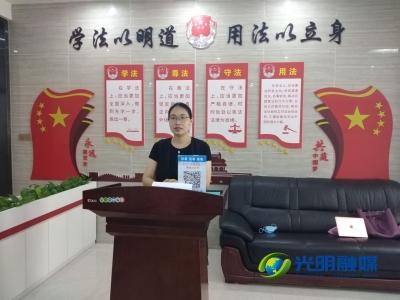"""光明街道""""禁毒法大講堂小劇場"""" 走進工廠"""