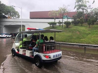 首輪強降水威力驚人,深圳市三防辦:嚴陣以待不松懈!