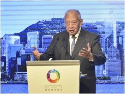 """董建华就""""港区国安法""""表态:香港决不可成为国家安全的短板及反华基地"""