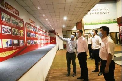 龙岗区委常委、组织部部长王清科到龙岗街道调研指导基层党建工作