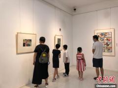 海内外六国儿童美术作品在重庆展出