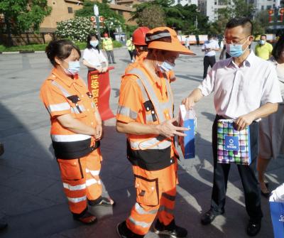 深圳两万余名环卫工人获赠新华保险意外伤害保险,保额20.11亿元