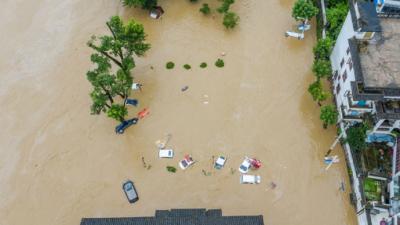 24小時降水全國第一,安徽黟縣教育局:已有相關風險預案