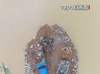 400多名抢险人员5天封堵127米 江西鄱阳问桂道圩决口昨晚顺利合龙