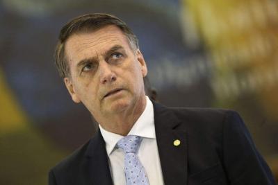 巴西總統博索納羅確認新冠病毒檢測呈陽性