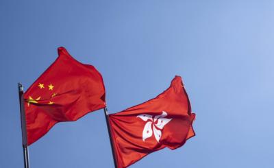 """外交部:香港國安法實施后, """"馬跑得更歡、股炒得更熱"""""""