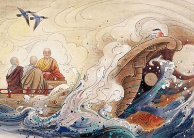 看古人如何乘风破浪