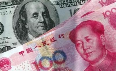 """连续两日升值:离岸人民币对美元汇率一度收复""""7""""关口"""