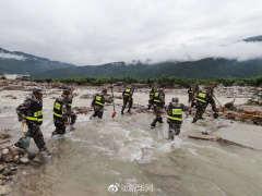 四川冕宁特大暴雨灾害已造成14人遇难8人失联