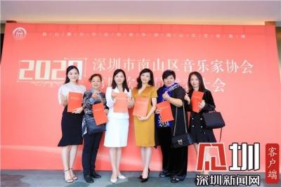 深圳市南山区音乐家协会第四次会员代表大会召开 刘丽琳当选新一届主席