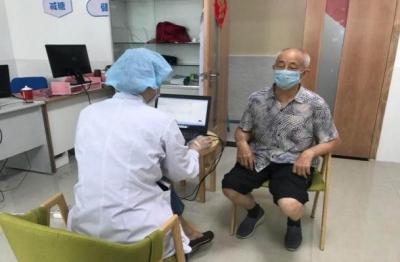 福田启动2020年辖区老年人体检