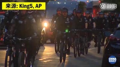 """西雅圖市長發布行政令解散""""國會山自治區"""" 警方逮捕至少32人"""