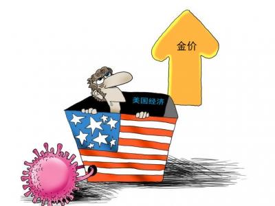 财经漫画 | 美联储按兵不动 金价出现巨震