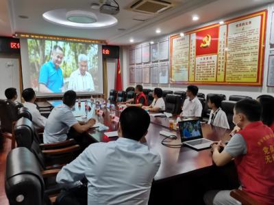 区委常委、组织部部长王清科到吉华街道调研指导基层党建工作