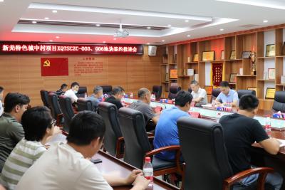 新羌特色城中村项目两地块启动签约