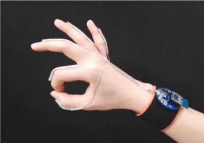有了这个手套,手语就能转换成可播放的语音